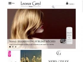 Leonor Greyl Italia – realizzazione sito web e-commerce