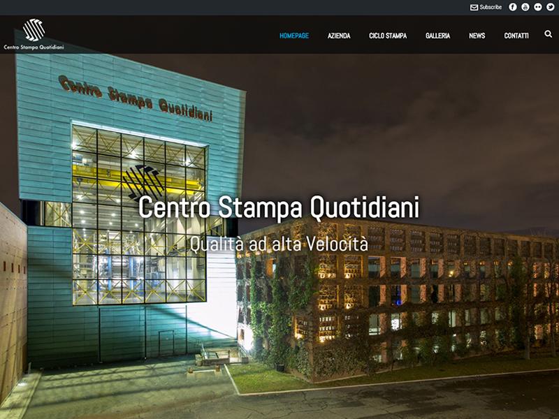CSQ Centro Stampa Quotidiani - sito web