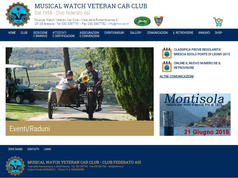sito web mwvcc auto storiche